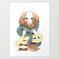 Eve Art Print by Elena Mir | Society6
