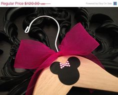END of YEAR SALE Disney Wedding Hanger / Bridal Party Hangers / Mickey & Minnie Wedding / Disney Wedding / Personalized Hanger Gift / Brida on Etsy, $96.00