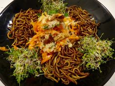Cooking mealworms:Different diet,different flavor?