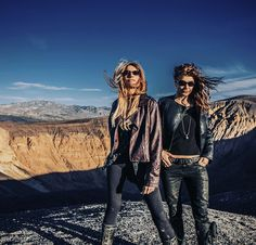 Two chicks at Death Valley. This is part of my Roadtrip Series