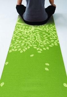 Gaiam Yoga Mat Classic Print Non Slip Exercise & Fitness Mat for All Types of Yoga, Pilates & Floor Workouts, Chakra, Take Care Of Your Body, Loving Your Body, Picnic Blanket, Outdoor Blanket, Floor Workouts, Types Of Yoga, Mat Exercises, Pretty Green, Pilates