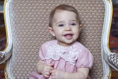 kungahuset.se:  The Swedish Royal Court has released photos to mark the first birthday of Princess Leonore of Sweden, daughter of Princess Madeleine and Chris O'Neill, February 20, 2015 (b. February 20, 2014)