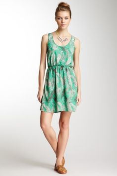 Lush Scoop Neck Sleeveless Dress by Earth Day Green on @HauteLook