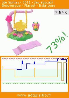 Lite Sprites - 3311 - Jeu éducatif électronique - Playset - Balançoire (Jouet). Réduction de 73%! Prix actuel 7,54 €, l'ancien prix était de 28,14 €. https://www.adquisitio.fr/lite-sprites/3311-jeu-%C3%A9ducatif