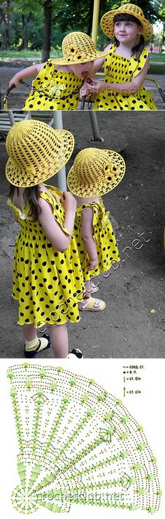 Вязаная шляпка «Счастье в горошек» - Вязание Крючком. Блог Настика