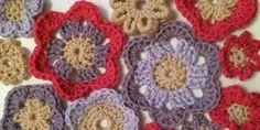 Six free crochet flower patterns to help you make your own beautiful crochet flowers. Crochet Butterfly, Crochet Flower Patterns, Crochet Flowers, Leaf Patterns, Crochet Blocks, Make Your Own, How To Make, Mandala Pattern, Beautiful Crochet