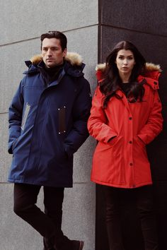 Canadian company, North Aware designed Smart Parka 1.0, a coat with built-in gloves, built-in scarf, AirPod holders, tech pockets and more. Smart Parka is the world's first complete winter coat.