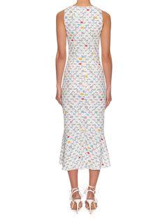 Kia geometric-print sleeveless midi dress | Peter Pilotto | MATCHESFASHION.COM US