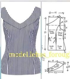 Blazer spencer sem gola diy molde corte e costura marlene mukai taika salvabrani… Dress Sewing Patterns, Blouse Patterns, Sewing Patterns Free, Clothing Patterns, Blouse Designs, Pattern Drafting Tutorials, Fabric Sewing, Free Sewing, Clothing Items