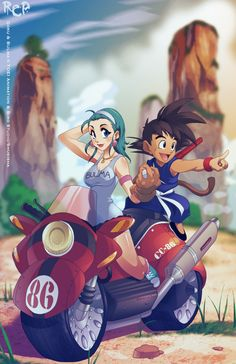 Next Dragonball's THAT WAY by *Robaato on deviantART
