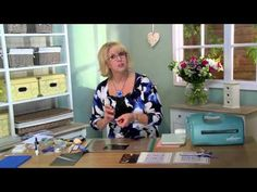 Crafting My Style with Sue Wilson - Sparkling Pansy Card for Creative Expressions - YouTube