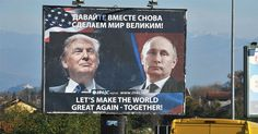 TALE OF TWO CITIES: RUSSIAN CITY HONORS TRUMP WHILE NYC CENSORS TRUMP SIGNS Russia sick of warmongering by Obama and Hillary
