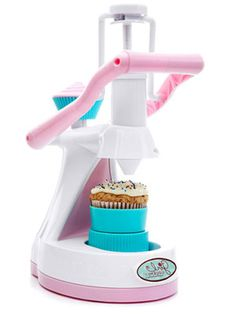 """The tastiest toy of the test, Jakks Pacific Girl Gourmet Cupcake Maker ($30, ages 8+) had kids """"baking"""" batch after batch of just-add-water microwaved cupcakes."""