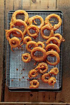 My Favorite Things: Beer-Battered Onion Rings