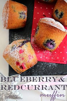 Oh my #muffin!!! #redcurrant #blueberry