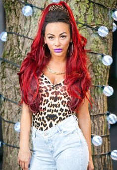 Look who's here! Chelsee Healey looked a far-cry from the sweet school secretary as she made her debut appearance on Hollyoaks, on Tuesday, as Goldie McQueen