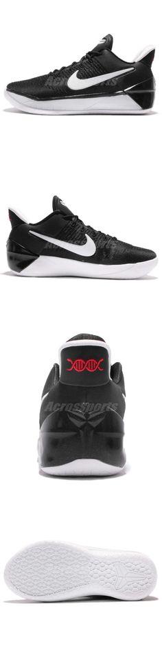 Youth 158973: Nike Kobe A.D. Gs Ad Bryant Black White Kid Basketball Shoes  869987-