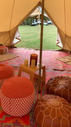 Add a communal lounge tent to your glamping village for a relaxing, shady and weatherproof communal space for up to 20 people ❤️ Cam. Fun Sleepover Ideas, Sleepover Birthday Parties, Girl Sleepover, Bell Tent Camping, Camping Glamping, Pool Party Decorations, Camping Decorations, Camping Must Haves, Shower Tent