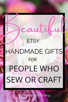 What's On my Christmas Wishlist? Save this list of handmade goodies for people who sew! My list comprises gifts from Etsy, the handmade marketplace. Support our independent sellers and buy handmade. #Etsy #Gifts #Christmas #sewing