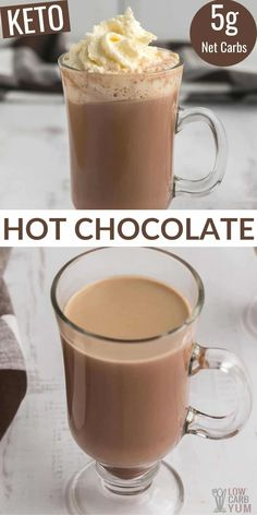 Homemade sugar free hot cocoa is perfect for a cool day. The rich taste in this keto hot chocolate comes from adding a special ingredient.