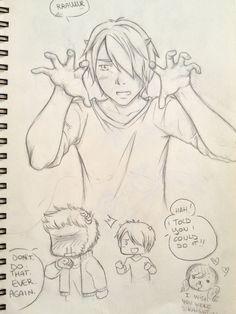 MU - Not so scary [Sullivan/Mike] - SKETCH by Kiki-Asuka on DeviantArt