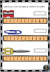 Ejercicios de medidas de longitud para primaria . El propósito del aprendizaje de las medidas de longitud es que las y los alumnos comprendan el concepto de longitud y experimenten con la medició…