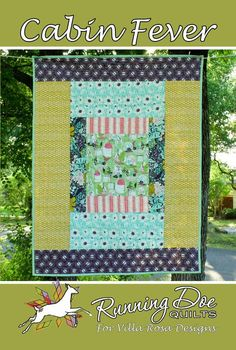 CABIN FEVER 47 -- This works well done quilt as you go. I added inch to each piece so I could use inch seam allowances on the double guaze Scrappy Quilts, Easy Quilts, Card Patterns, Quilt Patterns, Pattern Ideas, Villa Rosa, Quilt As You Go, Cabin Fever, Fabric Painting