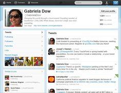 Gabriela Dow, speaker at Gov20LA  gdow.sd@gmail.com       (858) 735-2922  www.linkedin.com/in/gabrieladow