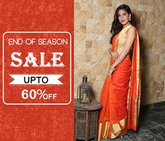 460faa9a778ec On All Silk Sarees Collection With UPTO 60% OFF  royalsari  banarasi   handloomsarees