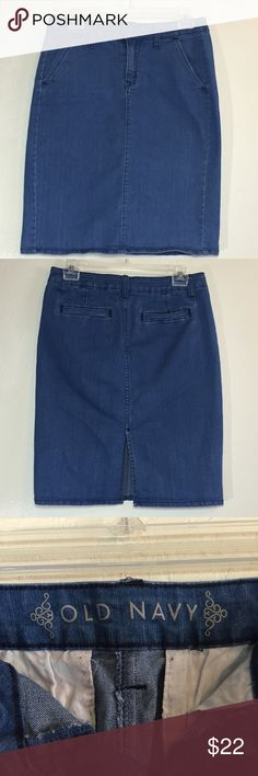 Old Navy Denim Skirt Very good used condition Old Navy Skirts