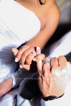 Pinky Promise Wedding Photo