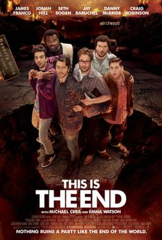 THIS IS THE END for Seth Rogen, James Franco and friends.
