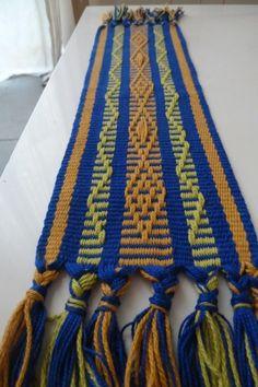 Telar mapuche (métier à tisser, loom)