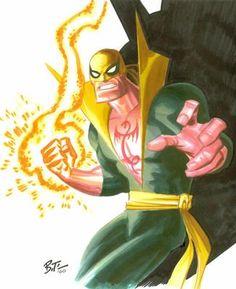 Bruce Timm - Iron Fist