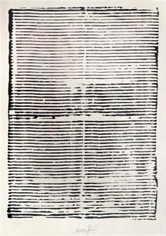 Heinz Mack ~ Text on Nothingness, 1960 (ink on paper)