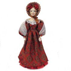 Russian Women Festive Dress Skip 25