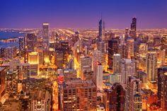 Christian Öser: Chicago skyline 1  Fine Art Prints Online Shop