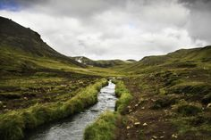 That time we hiked to hot springs Iceland [OC] [4272 x 2848]