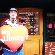 #librarylove at the Fairview-Columbia branch #library