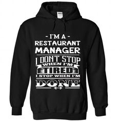 restaurant manager - #shirtless #tshirt women. ORDER HERE => https://www.sunfrog.com/No-Category/restaurant-manager-1940-Black-Hoodie.html?68278