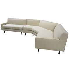 Harvey Probber Sectional Sofa with Table | From a unique collection of antique and modern sectional sofas at https://www.1stdibs.com/furniture/seating/sectional-sofas/