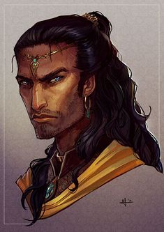 The Caladin's   cousin,he is called Ibrahim the Rogue,since he is a prince by day but a warlord by night