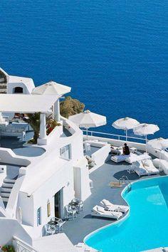 Katikies Hotel, Santorini, Greece