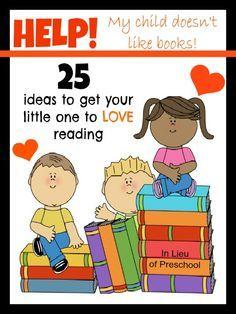 25 strategies to get children to love books