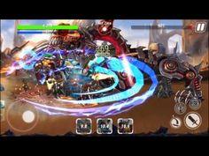 Heroes Infinity Unreleased android game first look gameplay español