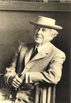 """Give me the luxuries of life and I will do without the necessities."" -Frank Lloyd Wright"