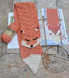 Mijn eigen plekkie: Vossen dasje / Fox scarf