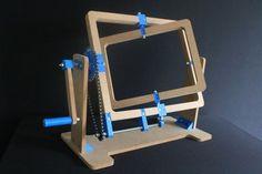 Printed and CNC Cut Rotomolding Machine: 4 Steps Cnc Router, Diy Mechanical Toys, Casting Machine, Diy Tech, Machine Tools, Design Crafts, Industrial Design, Stuff To Do, 3d Printer