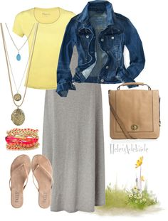 """Thursday"" by helenadelaide on Polyvore"