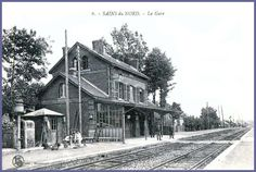 gare (4) Photos, Cabin, France, House Styles, Roots, Train Station, Cities, Pictures, Cabins
